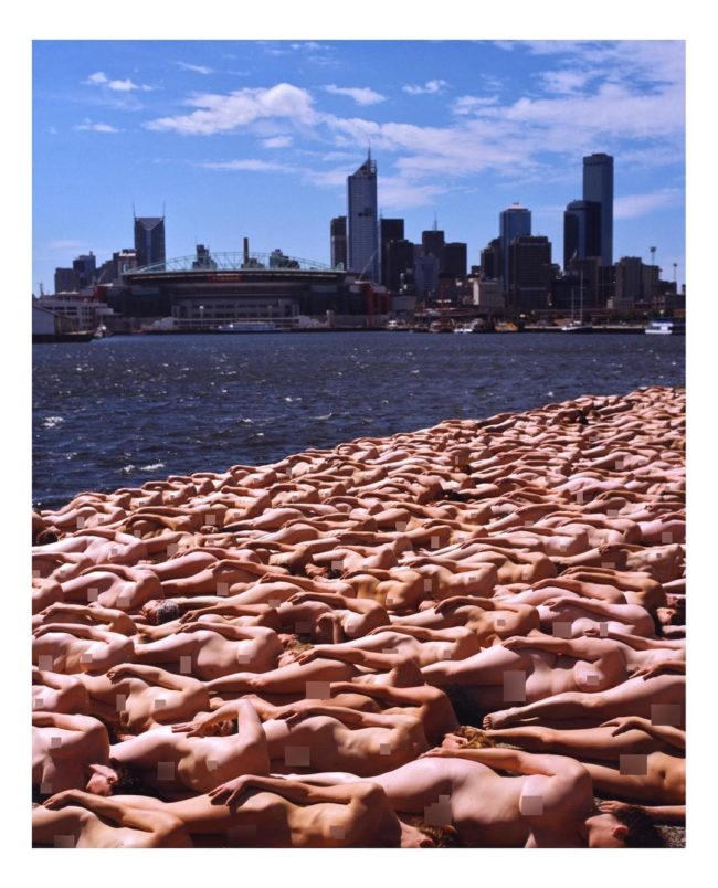 Spencer Tunick artist photographer nude
