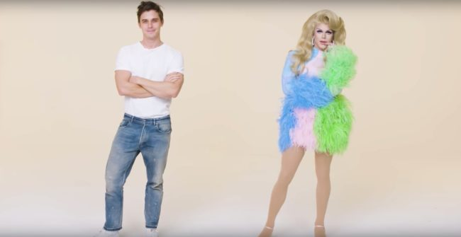 Queer Eye's Antoni Porowski gets a drag queen makeover