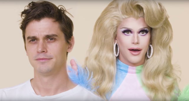 Queer Eye's Antoni Porowski Gets A Dramatic Drag Makeover