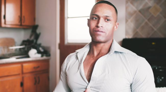 Nikko Briteramos was denied service at the barbershop because he is HIV-positive