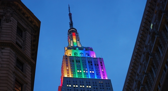 The Empire State Building is getting a Pride month makeover