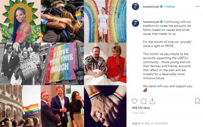 The couple shared a moving tribute on their official joint Instagram account