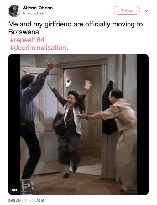 Botswana decriminalisation gay sex