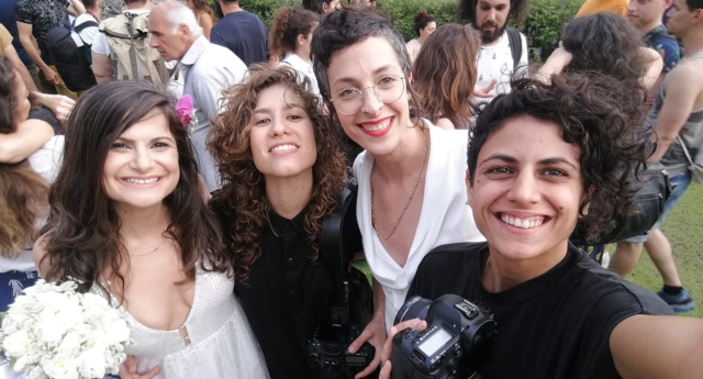 Mass same-sex wedding held in Israel to campaign for marriage equality