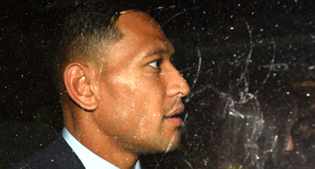 Israel Folau launches Gofundme campaign for legal battle