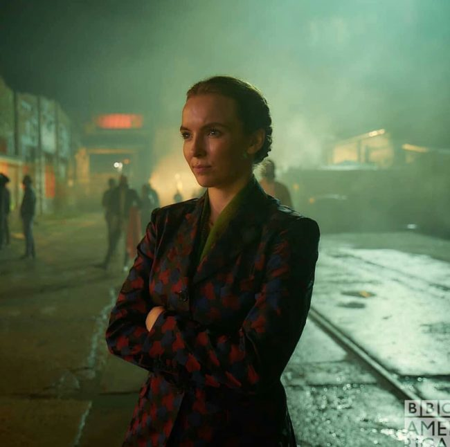 Killing Eve star Jodie Comer as Villanelle