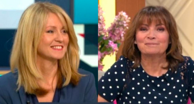 Lorraine Kelly 'strongly disagrees' with Esther McVey on LGBT rights