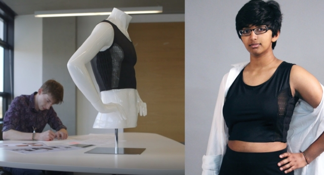 Student creates new chest binder that could change lives for trans men