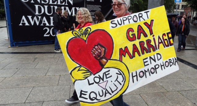 70 percent of Brits say Northern Ireland should legalise same-sex marriage