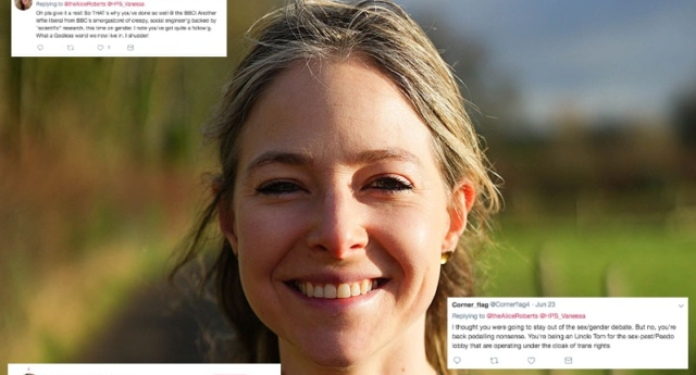 TV scientist Alice Roberts abandons Twitter after 'hate' from anti-trans feminists