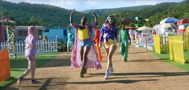 Todrick Hall and Taylor Swift in 'You Need to Calm Down'