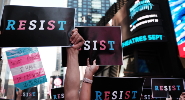 Transgender troops serving in US military supported by 71% of Americans