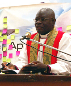 Archbishop of Nigeria Peter Akinola does not approve of gay people