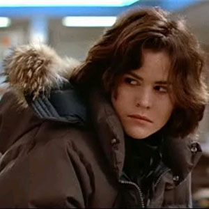 Ally Sheedy as Allison in The Breakfast Club