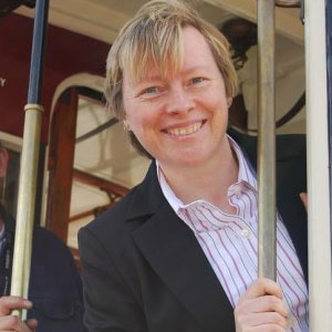 Angela Eagle, the only out lesbian in parliament, will speak at Village Drinks
