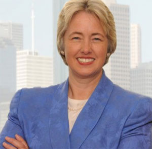 Annise Parker is the mayor-elect of Houston
