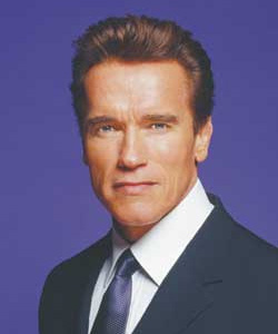 Arnold Schwarzenegger is Governor of California