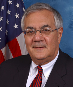 Barney Frank, one of the few current openly gay congressmen