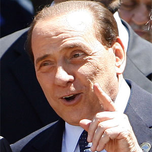 Silvio Berlusconi says his government will never allow gay marriage