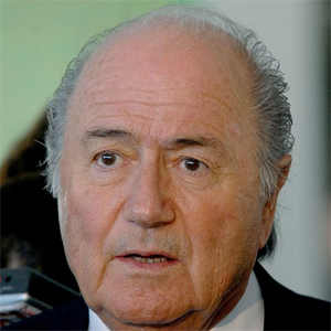 """Sepp Blatter said he didn't have a """"definite answer"""" on gay fans going to Qatar (Image: Roosewelt Pinheiro)"""