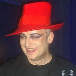 Boy George said 'some people hate cameras, I hate photographers!' (Photo: Ariadne Barroso)