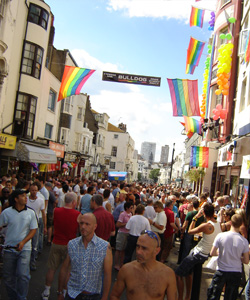 Brighton Pride takes place on Saturday 3 August
