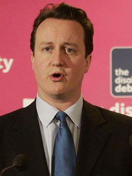 David Cameron did not mention gay people in his speech
