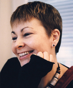 Caroline Lucas is the Green Party's leader