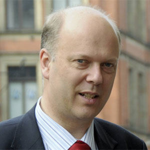 Chris Grayling was branded a 'bigot' at the award ceremony