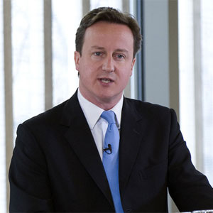 David Cameron said he did not want to fall out with Christians over equal marriage