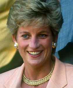 Diana, Princess of Wales, died in 1997