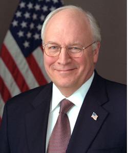 US Vice-President Dick Cheney has been applauded by gay campaigners for his ...