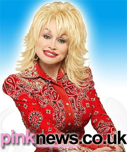 Dolly Parton has denied being a lesbian