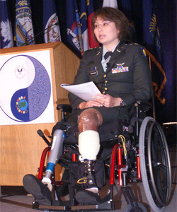 "Last month, former Army Major Tammy Duckworth, the Democratic candidate for Illinois's 6th Congressional District, expressed strong support for repealing the military's ""Don't Ask, Don't Tell"" policy"