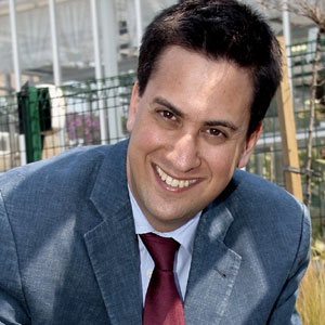 Ed Miliband was the Secretary of State for Energy and Climate Change