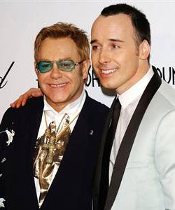 Sir Elton John are celebrating the birth of Zachary