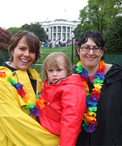 One of the families taking part in the events (Photo: FamilyPride)