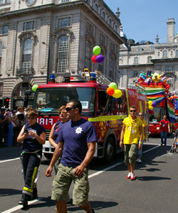 Lesbian, gay, bisexual and trans firefighters say they will refuse to march ...