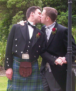 A gay couple who got married in Canada should not be regarded as a married ...