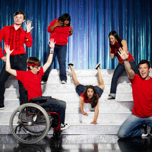 Glee is set to show same-sex kisses