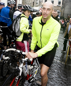 graemeobree ... has warned other gay sportsmen and women not to follow his example.