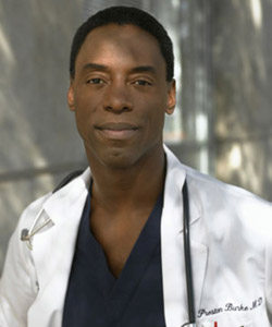 Mr Washington was dropped from hit US show Grey's Anatomy  after referred to a co-star a faggot.