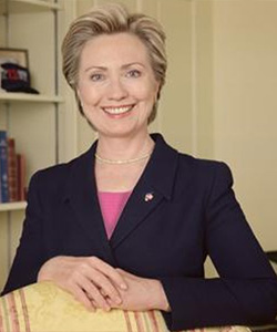 Hillary Clinton supports civil unions for gay couples