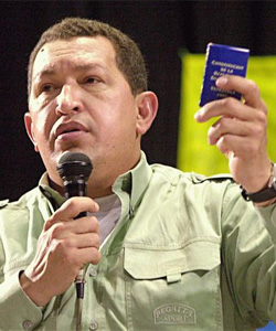 President Hugo Chávez is said to be backing the bill