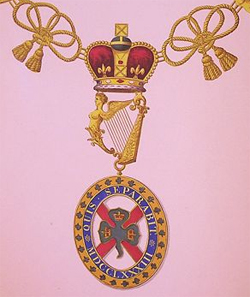 The Order of St Partick is an order of chivalry founded in 1783 by George III.