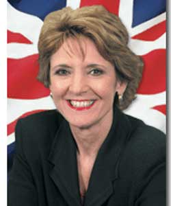 Iris Robinson is MP for Strangford