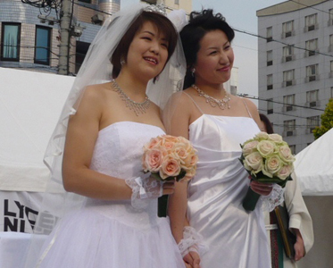 Japanese citizens have been permitted to marry their foreign partners abroad