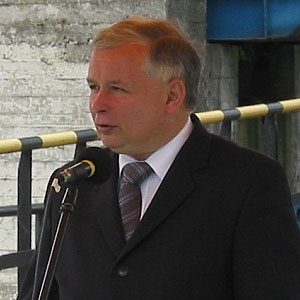 For the first time Mr Kaczynski has spoken in favour of repressive new laws that would affect schools.