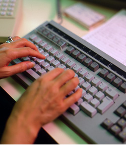 The boy's mother warned of the dangers of internet chatrooms