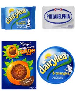 Kraft, who own Dairylea, Philadelphia and Terry's Chocolate Orange among other brands will sponsor the Gay Games